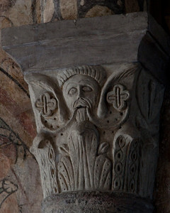 Lavaudieu Abbey of Saint Andrew Bearded Man Capital