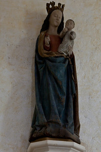 Plaimpied, Saint-Martin Abbey Virgin and Child