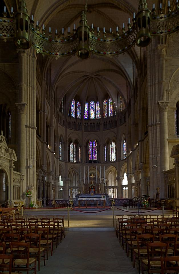 Reims, Saint-Remi Basilica Choir