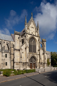 Reims, Saint-Remi Basilica South Facade