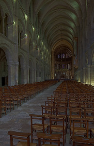 Reims, Saint-Remi Basilica Nave and Choir