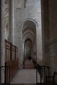 Saint-Benoit-sur-Loire Abbey Aisle