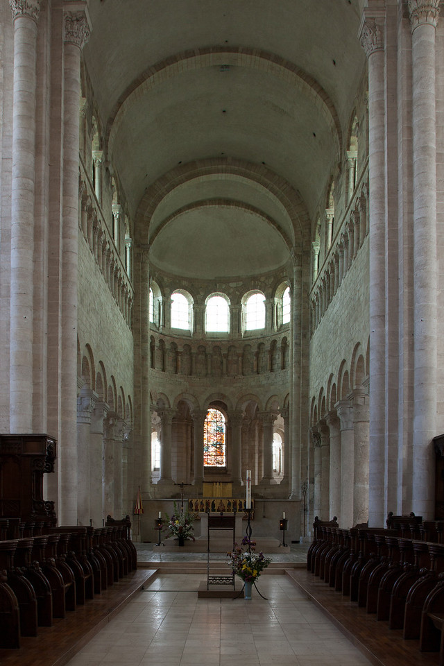 Saint-Benoit-sur-Loire Abbey Choir