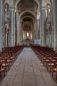 Saint-Hilaire-le-Grand Abbey Nave and Choir