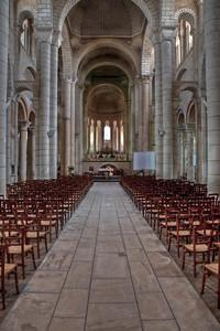 Saint-Hilaire-le-Grand Abbey Nave and Choir