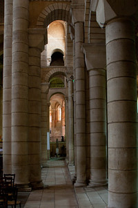 Saint-Hilaire-le-Grand Abbey Aisle Arches