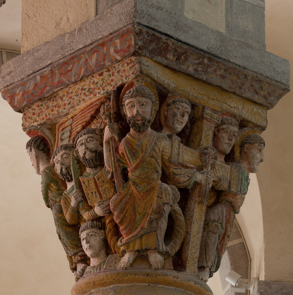 Saint-Nectaire Abbey Capital