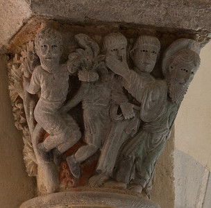 Saint-Nectaire Abbey  Capital