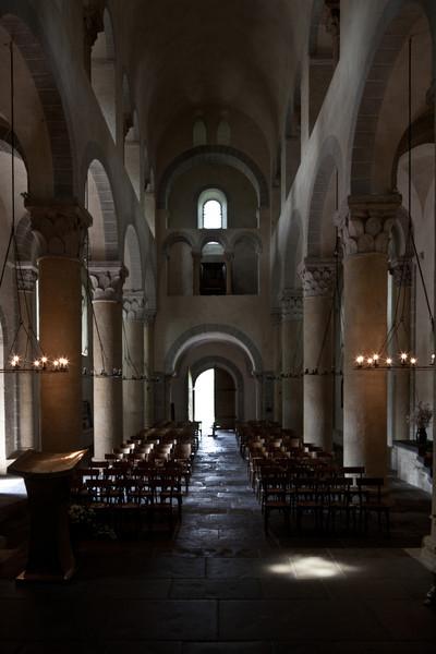 Saint-Nectaire Abbey Nave