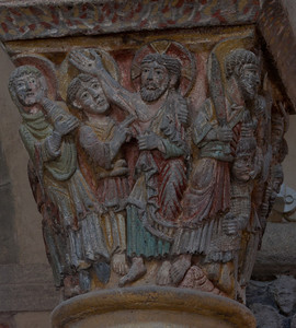 Saint-Nectaire Abbey Capital Doubting Thomas