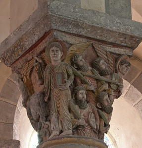 Saint-Nectaire Abbey Capital,