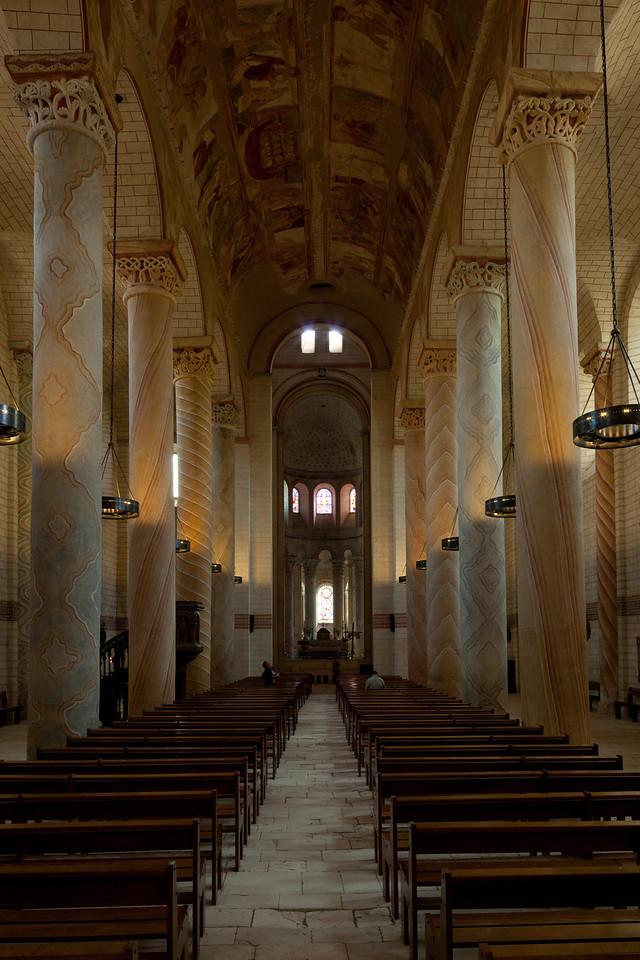SaintSavin sur Gartempe Nave and Choir