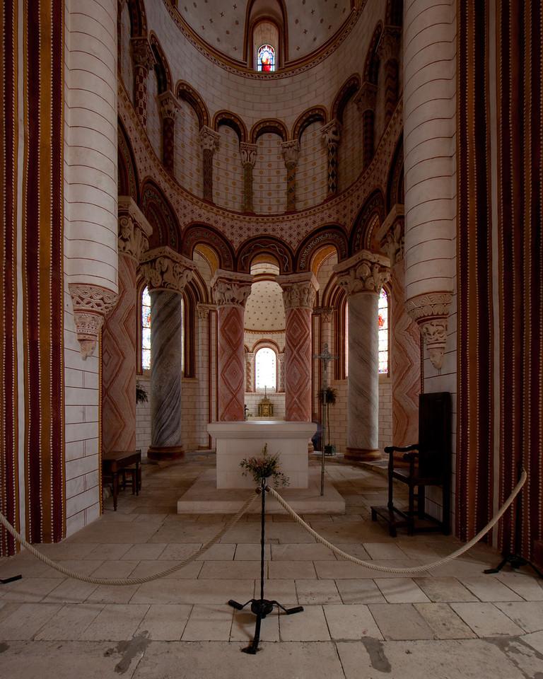 Saint-Savin-sur-Gartempe Choir