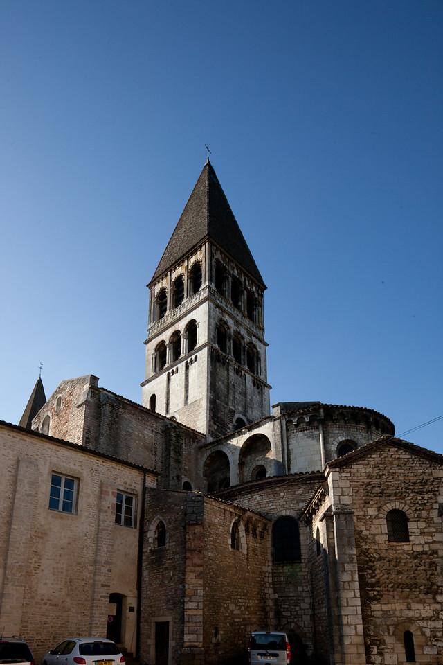 Tournus, Saint-Philibert Abbey Tower