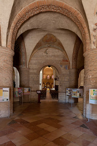 Tournus, Saint-Philibert Abbey Narthex