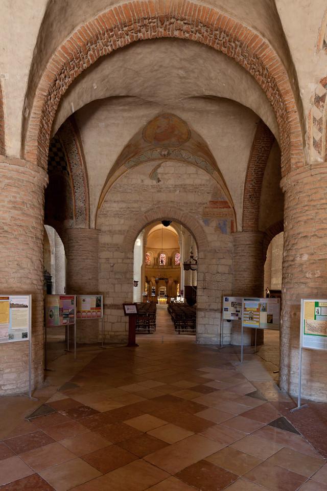 Tournus, Saint-Philibert Abbey Narthex