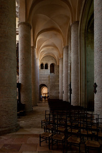 Tournus, Saint-Philibert Abbey Aisle