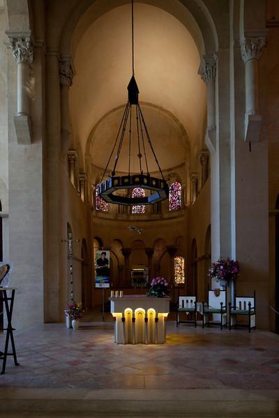 Tournus, Saint-Philibert Abbey Choir