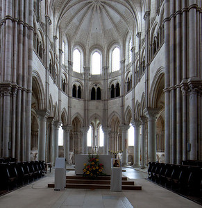 Vezelay Sainte-Madeleine Abbey,The Gothic Choir