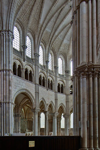 Vezelay Sainte-Madeleine Abbey Choir Elevation