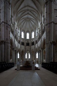 Vezelay Sainte-Madeleine Abbey, The Gothic Choir