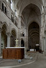 Vezelay Sainte-Madeleine Abbey Choir and Nave