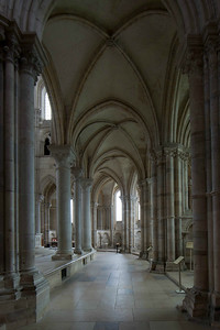 Vezelay Sainte-Madeleine Abbey Ambulatory Aisle