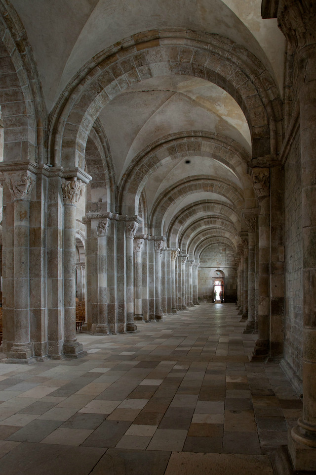 Vezelay Sainte-Madeleine Abbey South Aisle