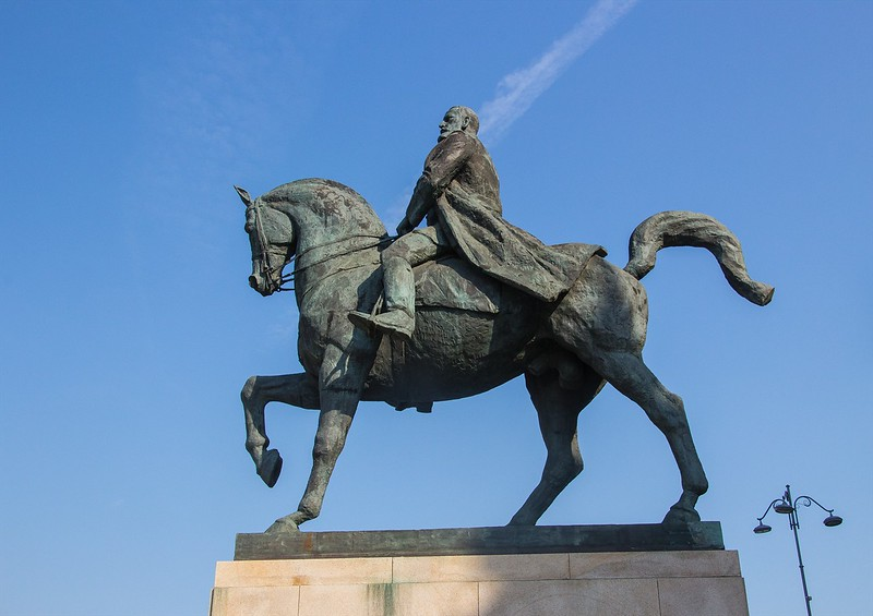 Bucharest:  The first King of Modern Romania, Carol I