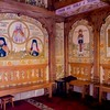 paintings inside church