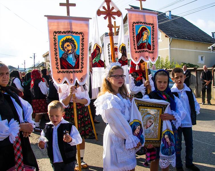 Birth of the Virgin Mary ceremony, Rozavela