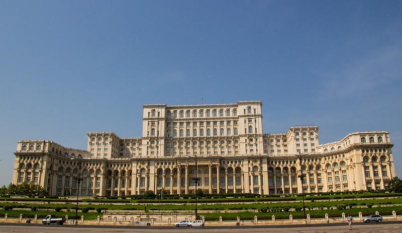 Bucharest: The Parliament