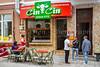 A shop in downtown Constanta, Romania.