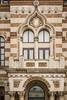 The exterior facade of the Folk Art Museum of Constanta, Romania.
