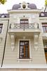 Modern building architecture in Constanta, Romania.