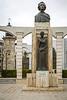 Romania Statue of Mihai Eminescu in Constanta, Romania.