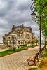 The old Casino on the shores of the Black Sea in Constanta, Romania.