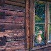 Clair Hixson, Romania, Maramures, Biserica, shed and window