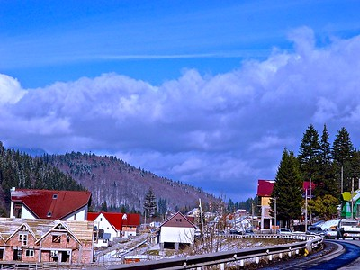 Driving through Transylvania