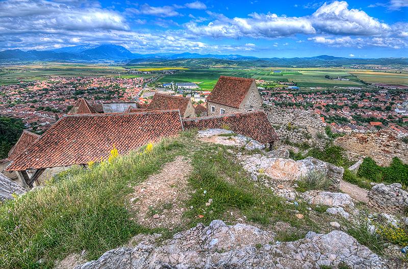 View from Raslov Castle