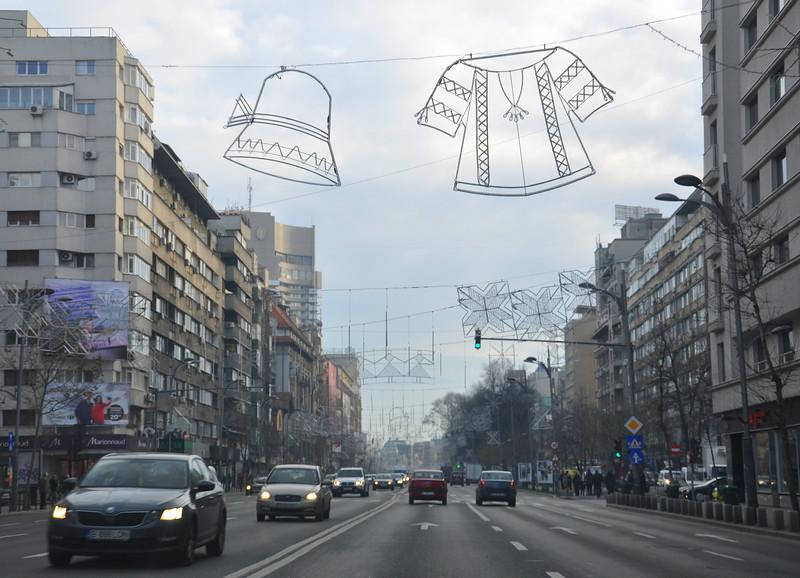 Bucharest's Bulevardul Nicolae Balcescu. 2017.
