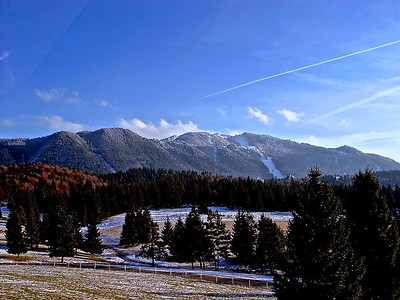 The Beautiful Romania Carpathian Mountains