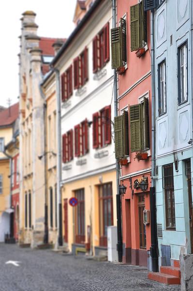 Houses in Sibiu. 2017.