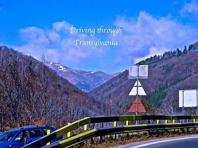 Driving through Transylvania