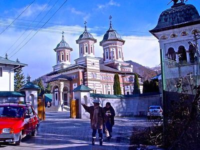 The Orthodox Sinaia Monastery in Romania