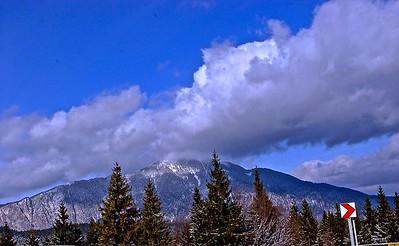 The Transylvania Carpathian Mountains