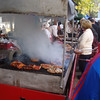 Lunch at the craft fair - grilled meats (some of which we could recognize)