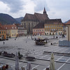 "Brasov (""Bra-shov"") was the biggest of the three Transylvanian (Saxon) towns we visited.  Our hotel was on the main square."