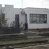 Typical Romanian train station