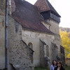 We took an afternoon tour of the fortified Saxon churches in the countryside around Sighisoara.  The Saxons were German speaking immigrants to central Romania in the 12th century.  Maria was our guide.